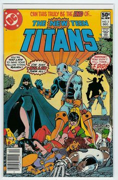 New Teen Titans #2.  The first appearance of Deathstroke.
