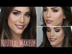 Neutral Fall/Autumn Makeup Tutorial | ft. Too Faced Chocolate Bar Palette