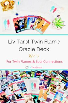 This 80 card oracle deck guides, supports and brings you clarity on your journey to love and union with your twin flame or soul connection. Mini Reading, Welcome Card, Love Tarot, Soul Connection, Tarot Learning, Cartomancy, Tarot Readers, Oracle Cards, Tarot Decks