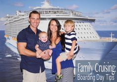 cruise with kids - boarding day tips for having a fun family vacation