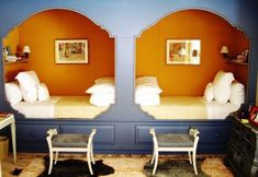 Sleeping Nook - Every Single Awesome Bunk Room Featured on Lonny - Photos Interior Exterior, Interior Design, Sleeping Nook, Bed Nook, Built In Bed, Built Ins, Bunk Rooms, Kid Rooms, Guest Rooms