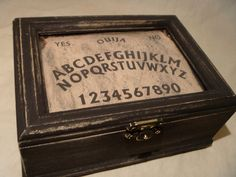 Ouija board jewelry box  However it might invite darkness in and that creeps me out...