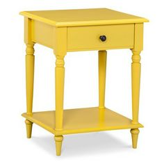 Threshold™ Turned Leg Accent Table in Summer Wheat | target.com | $89.99