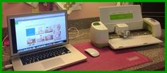 Around the Block with scrapalette: Cricut Explore and Design Space Videos