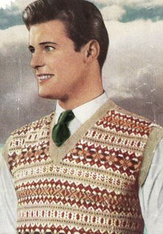 47396117ce72e6 10 Best Vintage fair isle designs in knitting images