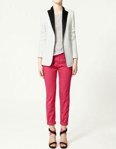 STUDIO BLAZER - Blazers - Collection - Woman - ZARA United States - StyleSays