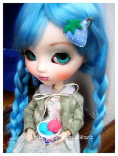 Unique Dolls Of Progression! These Collectibles Bypass Barbie - News - Bubblews Pretty Dolls, Cute Dolls, Beautiful Dolls, Blue Strawberry, Heart For Kids, Creative Activities, Hello Dolly, Fairy Dolls, Ball Jointed Dolls