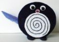 How to Make Crafts Using CDs: Poliwag Pokemon
