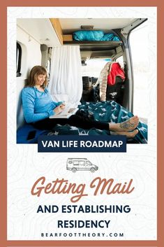 If you plan on living in an van full-time, you may be wondering how to get packages or where to set up your home mailing address. There are some advantages of choosing certain states over others, and in this lesson, we're going to share some tips to help you make a decision. Sprinter Van Conversion, Sprinter Camper, Change Your Address, Bus Life, Truck Camper, Layout Inspiration, Life Lessons, Lockers