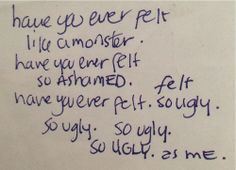 From Courtney Love's journal