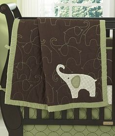 elephant quilt - love it!