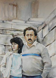 watercolor,acropolis
