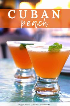 The Cuban Peach cocktail is a simple, refreshing blend of muddled peach, white rum, peach schnapps and freshly squeezed lime juice. The traditional Cuban Peach cocktail is made with white rum, peach schnapps and freshly squeezed lime juice. Refreshing Drinks, Summer Drinks, Cocktail Drinks, Rum Cocktail Recipes, Summer Bourbon Cocktails, Simple Cocktail Recipes, Summer Martinis, Colorful Cocktails, Spring Cocktails