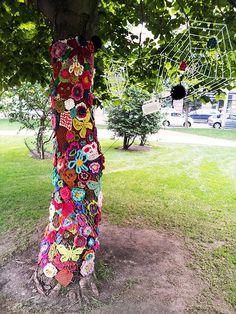 Knit Graffiti in Helsinki