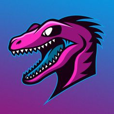 Dinosaur logo on behance logo animal, gear logo, logo background, esports logo, Badge Design, Logo Design, Raptor Dinosaur, Dinosaur Park, Gear Logo, Logos, Logo Background, Esports Logo, Animal Logo