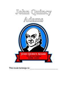 john quincy adams 19 pages of fun activities