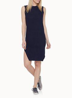 La robe tricot asymétrique Cheap Talk   Simons