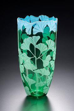 9 Astonishing Tips: Glass Vases Living Rooms blue vases.Old Vases Nail Polish giant floor vases.Black Vases With Greenery. Art Nouveau, Fused Glass, Stained Glass, Etched Glass, Blown Glass, Cut Glass, Glitter Vases, Glass Engraving, Inspiration Art