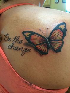 tattoo number two be the change beauty style