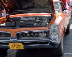 Classic USA Muscle car - Pontiac GTO    #MuscleCars #LoveOnlineToday.com