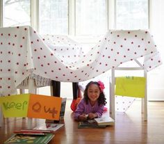 Build a Fort | Want to create a fortress mighty enough to withstand any big bad wolf's huffs and puffs? Get inspired by these seven creations.