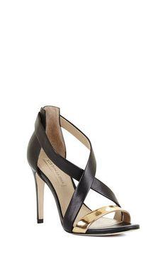 Rainn High-Heel Crisscross Dress Sandal