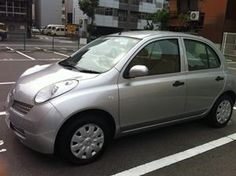 For Lease - This 2003 Nissan March is available 35,000JPY per month including insurance and maintenance!