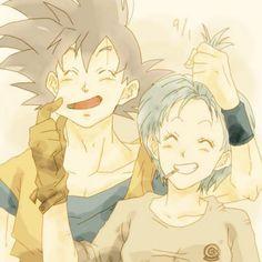Gine i think it 39 s adorable that someone like bardock - Goku e bulma a letto ...