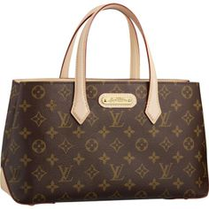 f9efd50957f1 Cheap Replica Louis Vuitton Monogram Canvas Wilshire PM Brown Women  Shoulder Bags And Totes- Please