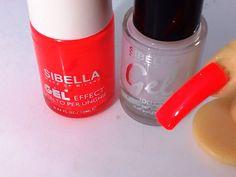 Smalto Gel Arancione Fluo + Top Coat Semipermanente No UV Moda Estate