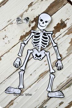 Halloween Game-Mr. Bones theidearoom.net