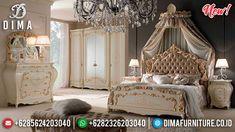 New Model Kamar Set Mewah Jepara Luxury Royals Deluxe Room TTJ-0954