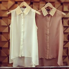white button down is a must.. :)