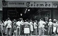 Confeitaria Colombo - 1950