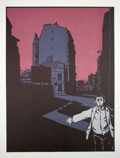 "image portfolio ""Déprime"", 1980 (Ed. Futuropolis)"