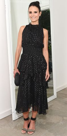 Look of the Day - September 02, 2015 - The A List 15th Anniversary Party from InStyle.com - Jordana Brewster