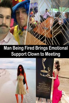 An Aukland man sensed he was about to be let go when he received an email from bosses, and so brought a clown along to his meeting for emotional support. Pinterest For Men, Wedding Pinterest, Pinterest For Business, Meeting Someone New Quotes, Emotional Support Classroom, Maya Ali, Baby Dress Design, Meet Girls, National Academy