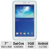 Samsung Galaxy Tab 3 Lite (7-Inch, Blue-Green) Get this product today at A1-Electronics.