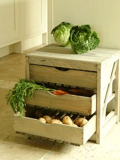 Kitchens Shelves Decorating With Food, Eco Style Storage Ideas