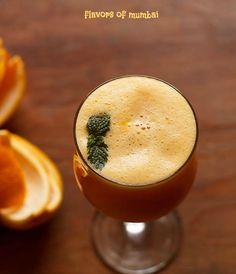 Orange Juice recipe - a freshly prepared orange juice sweetened with honey. You could use any juicy oranges for this recipe. How To Make Orange, Orange Juice, Mint, Tableware, Recipes, Food, Peppermint, Dinnerware, Tablewares