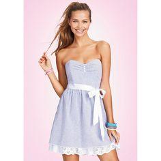 Seersucker Dress ($9.99)