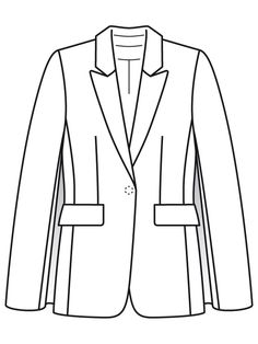Flat Drawings, Flat Sketches, Technical Drawings, Fashion Sketchbook, Fashion Sketches, Corporate Uniforms, Clothing Sketches, Drawing Clothes, Fabric Manipulation