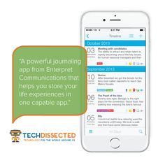 Tag Journal is named iOS app of the week by @techdissected!#ios #app #journal