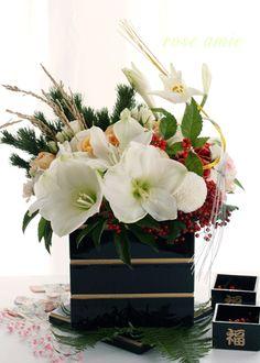 ☆.。.:*・花美を創造する毎日 in 二子玉川☆.。.:*・-お正月