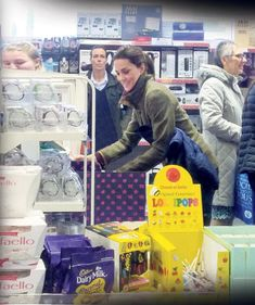 The royal looked like any other shopper as she picked out gifts Norfolk 68591b1b6aae