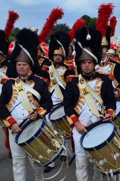 Tamburi dei granatieri della guardia imperiale francese
