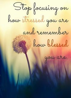 Keep Smiling: Count your blessings | Thought of the Week #11