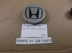 Honda Accord,Civic,Pilot  02-13  wheel center cap 44732-S9A-A00 hub cover J169 #HONDA