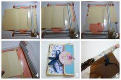 Bursts of Creativity: File Folder Mini Album Tutorial