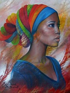 learn about the robust and attractive african art is part of Afro art - Learn About The Robust And Attractive African Art Beautifulart Love Afrique Art, African Paintings, Art Paintings, Black Artwork, Afro Art, Black Women Art, African American Art, Female Art, Painting & Drawing